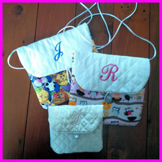 In-the-hoop Quilted Gift Bag