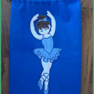 Large Ballerina Applique