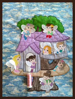 Large Fairy Treehouse (Plus ITH Fairy Bags)