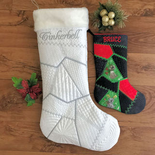 Crazy Patch Stocking