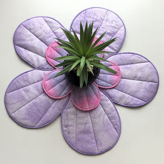 Large Applique Flower