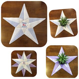 LARGE STAR APPLIQUE