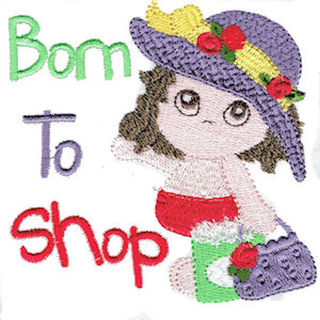 Free Born to Shop