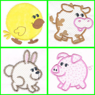 Free Chubby Farm Animals