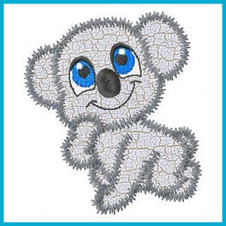 Free Zoo Applique Set
