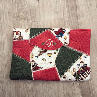 Crazy Patch I-Pad Pouch