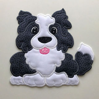 Large Dog Applique