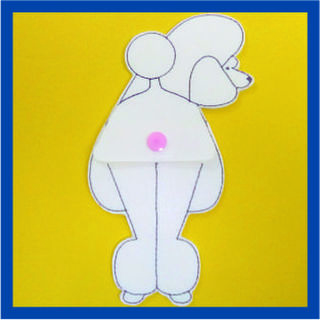 Poodle Scissor Holder