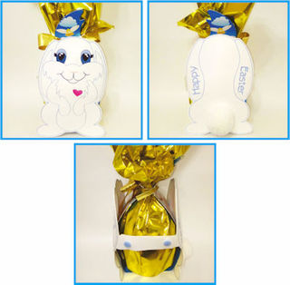 Bunny Easter Egg Wrap