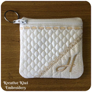 Free In the hoop Lined Bag for 4x4 hoop