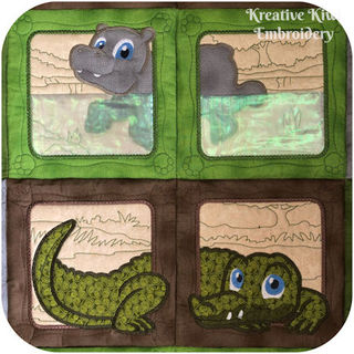 Jungle Animals Combo Applique