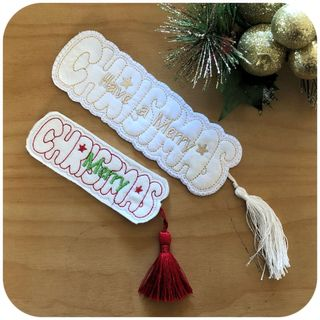 Free Christmas Bookmark
