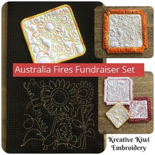 Fire Fundraiser Design Set