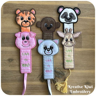 In the hoop Bookmarks 4x4 Hoop
