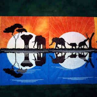 African Safari Wall Hanging
