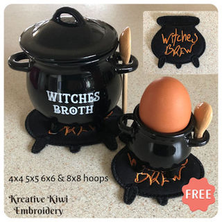 Free Witches Cauldron