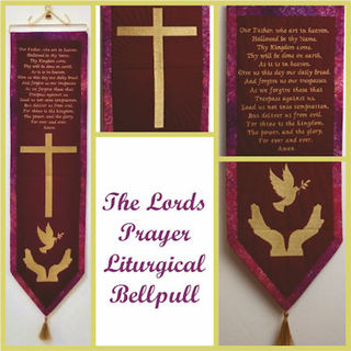 Lords Prayer Liturgical Bell Pull