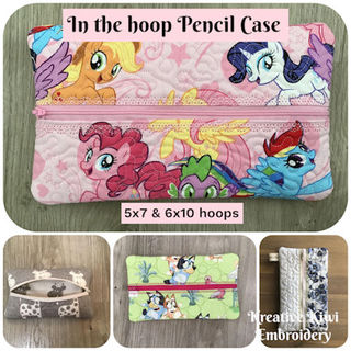 In the hoop Pencil Case