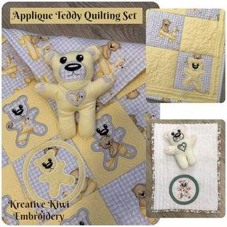 Teddy Quilting Set