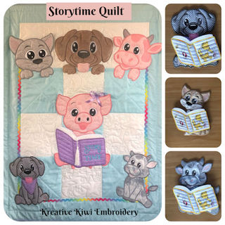 Storytime Quilt Set