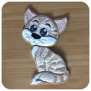 Large Applique Cat 2