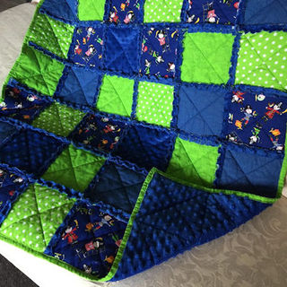 How to make a Raggy Quilt