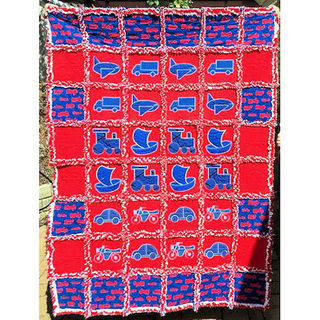 Faye's Fantastic Raggy Quilt Edging