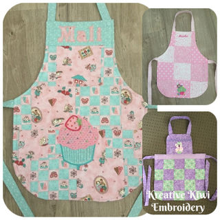 How to make a very cute Child's Apron