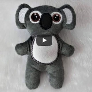 How to make In the hoop Koala toy