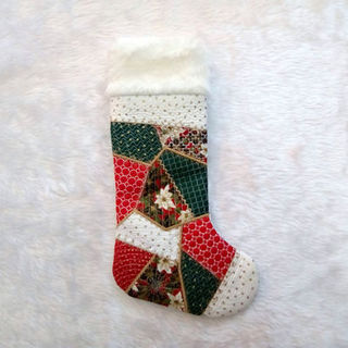 How to make our In the hoop Crazy Patch Christmas Stocking