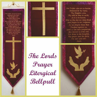 How to make Lords Prayer Bell Pull- Wall Hanging