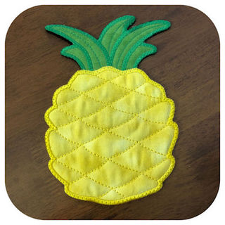 How to make Free Pineapple Coaster
