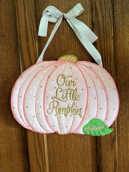 Pumpkin Birth Announcement