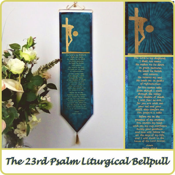 23rd Psalm Bellpull by Kays Cutz - 600