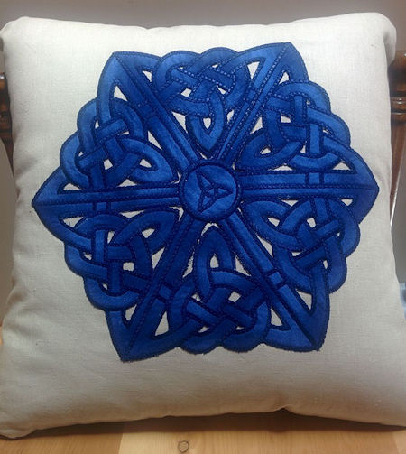 Celtic Cushion