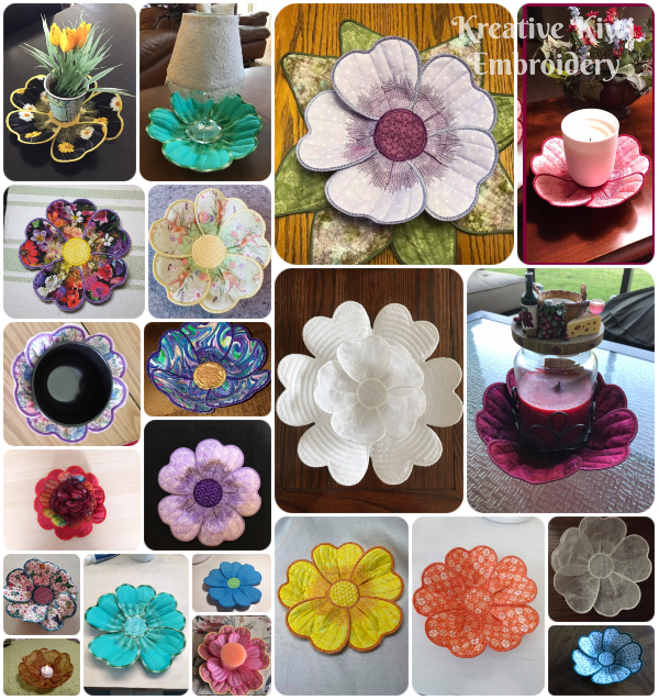 3D Flower samples by Kreative Kiwi Group