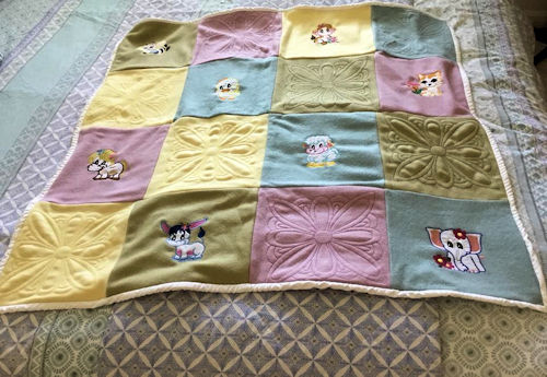 Fleece Animal Quilt
