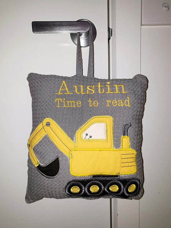 Digger Applique by Allison