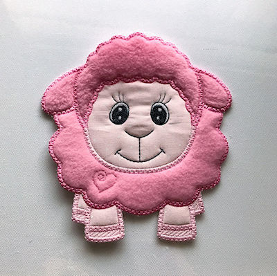 Large Applique Sheep by Kreative Kiwi