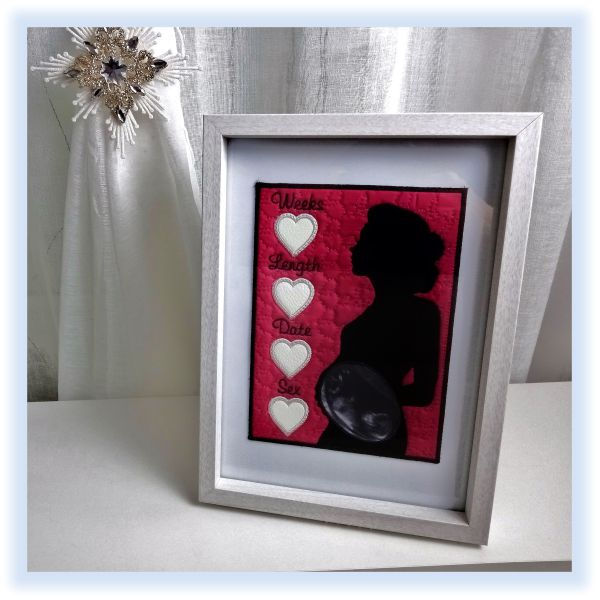 Baby Scan Photo Frame by Kays Cutz