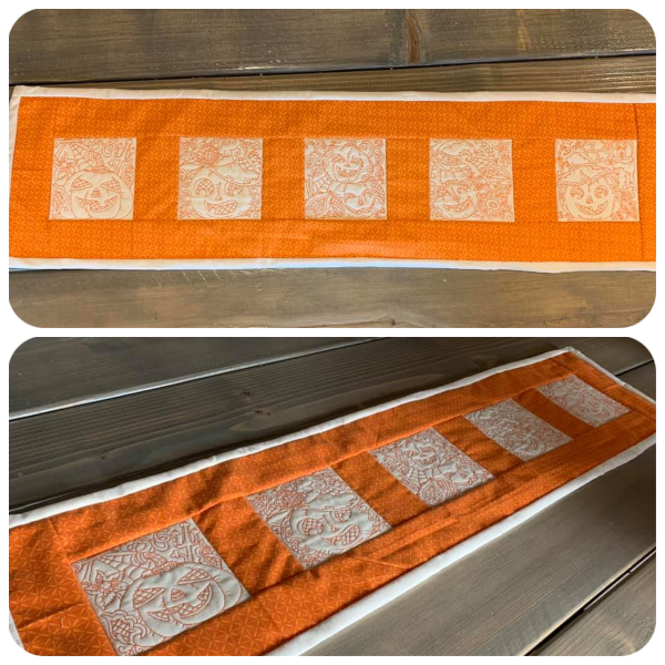 Pumpkin Table runner by Brittany