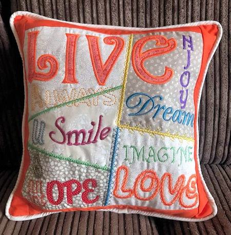 Cathys Live Love Cushion