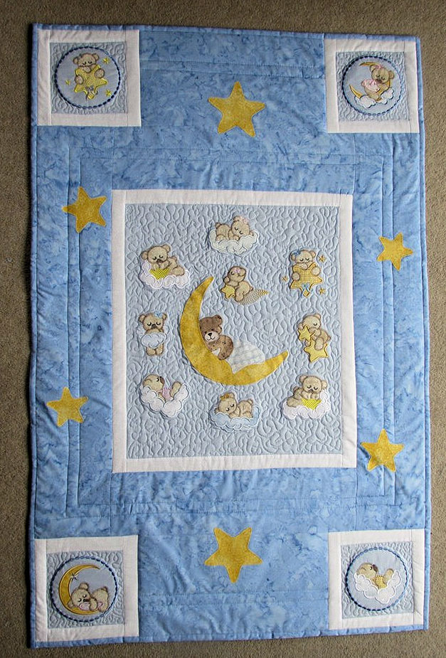 Christine Sleepy Bear Quilt