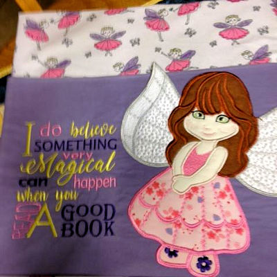 Angel Reading Pillow