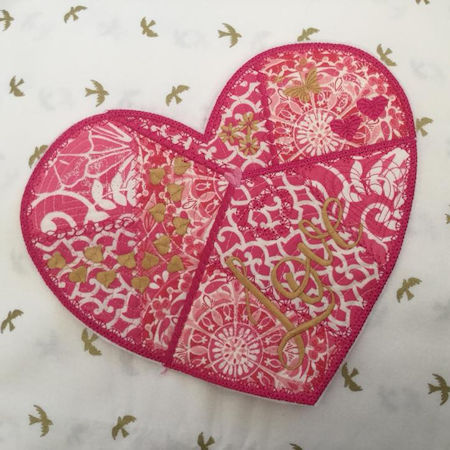 Darina Crazy Patch heart