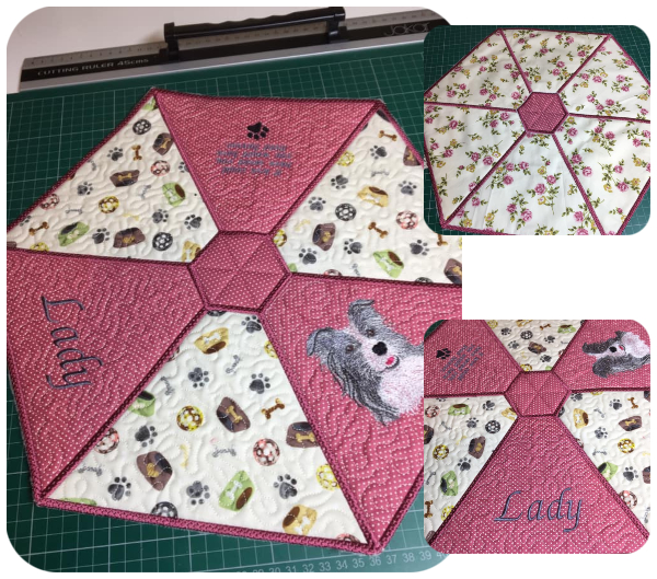 Hexagon Placemat by Carol