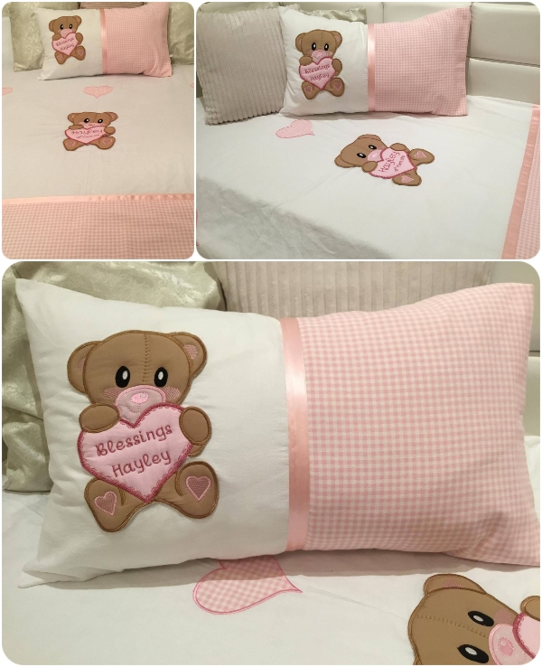 Claudette - Large Teddy Applique