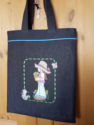 Denim Darlings Totebag