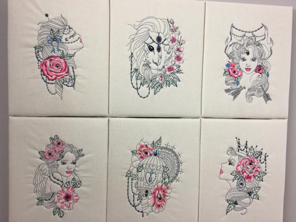 Boho Machine Embroidery Designs
