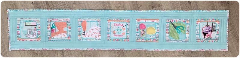Darina - Sewing is Therapy Table Runner a